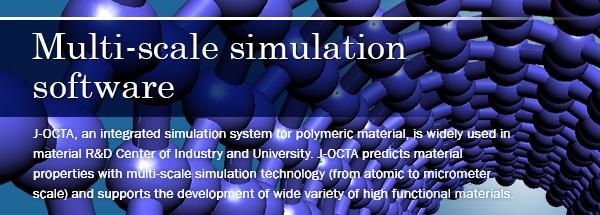 Multi-scale simulation software